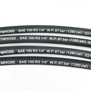 SAE 100R3/EN 854 3TE Hydraulic Hose